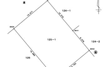 新潟市西区真砂土地区画図