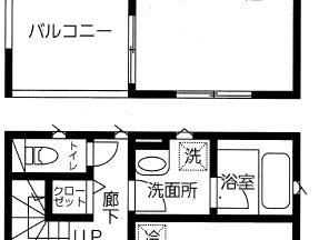 東区中野山新築戸建2号棟間取図