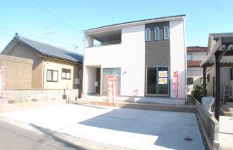 新潟市中央区高志第2新築戸建外観