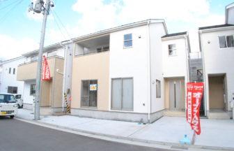新潟市中央区鳥屋野新築戸建5号棟外観