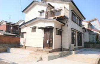 新潟市西区松海が丘2丁目 リフォーム済中古住宅外観