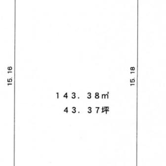 東区江南分譲地区画②区画図