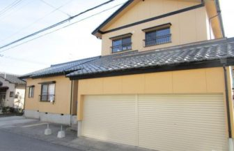 新潟市北区太田 リフォーム済中古住宅外観