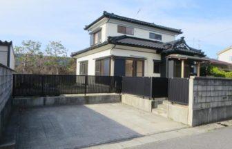 新潟市北区内島見リフォーム済住宅外観