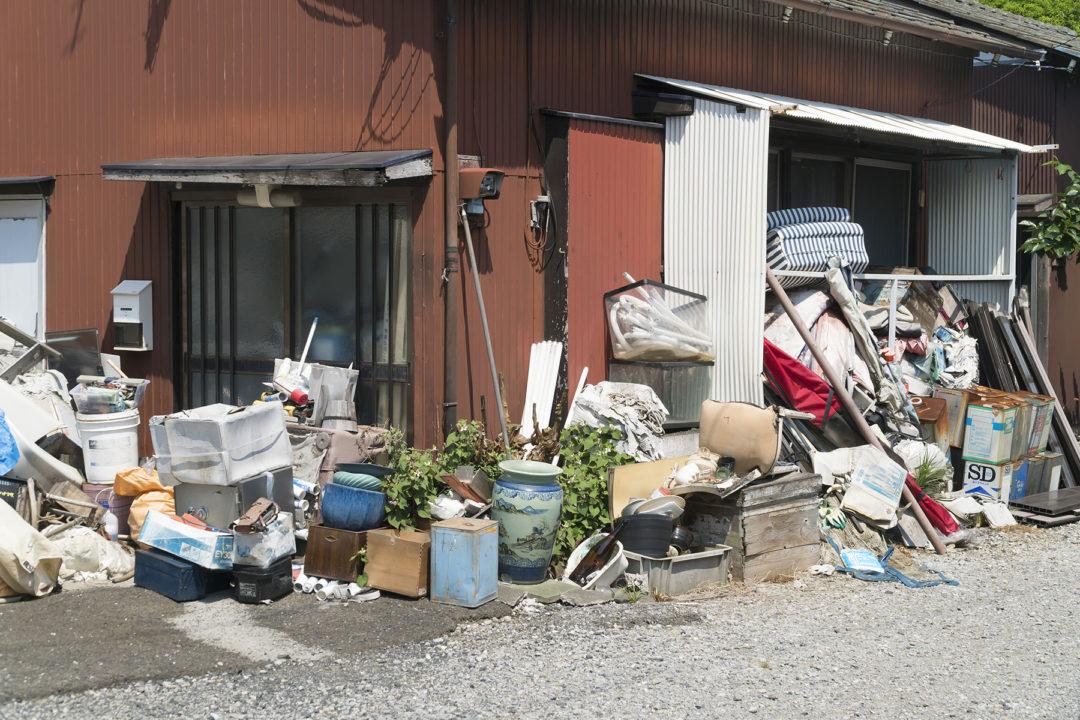 ゴミが多い物件